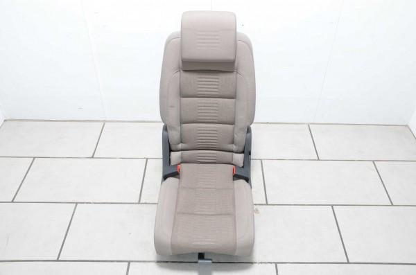 Sitz Autositz 1. Fahrgastreihe Mitte Stoff VW Touran 1T latte macchiato DV