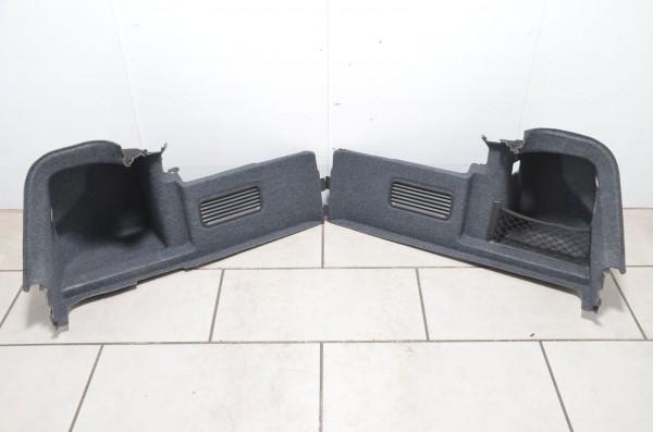 Kofferraumverkleidung Set Audi A4 Cabrio 8H B6 B7 grau 8H0863888A 8H0863887A