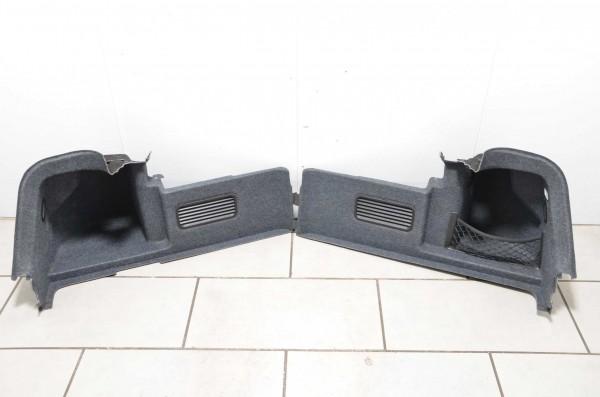 Kofferraumverkleidung Set Kofferraum Audi A4 Cabrio 8H B6 B7 grau Verkleidung