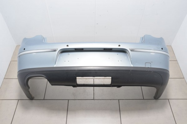 Stoßstange Stoßfänger hinten AHK PDC VW Passat Limousine 3C grau LC7Z