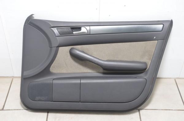 Türverkleidung vorne rechts Leder Alcantara Audi A6 Allroad 4B swing N7U / MZ