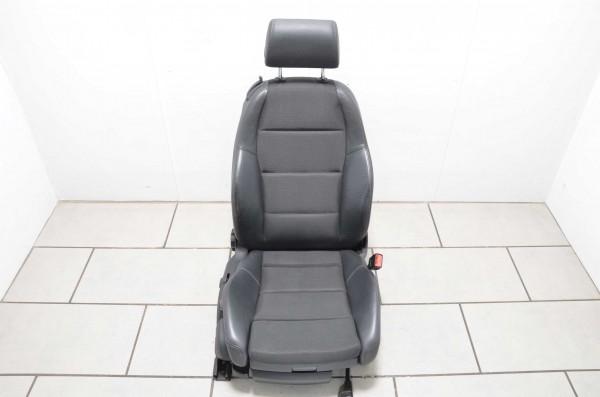 Sitz Beifahrersitz Sitzheizung Audi A4 Cabrio 8H B7 Stoff Leder schwarz N2L/QE