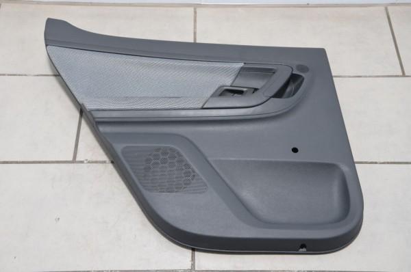 Türverkleidung Türpappe hinten links Stoff Skoda Fabia 5J Onyx AW