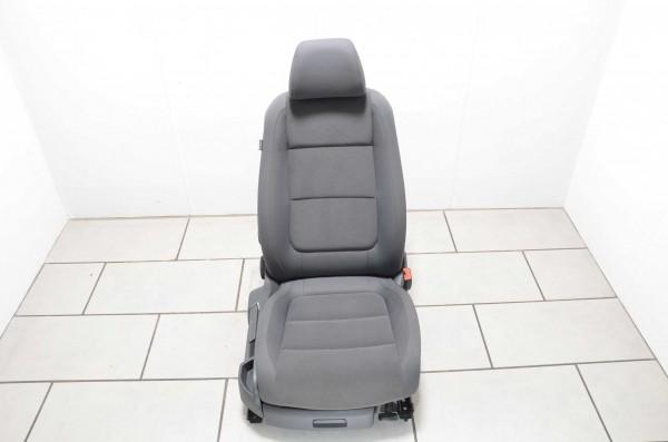 Beifahrersitz Sitz rechts Sitzheizung Stoff VW Golf Plus 5M anthrazit off black