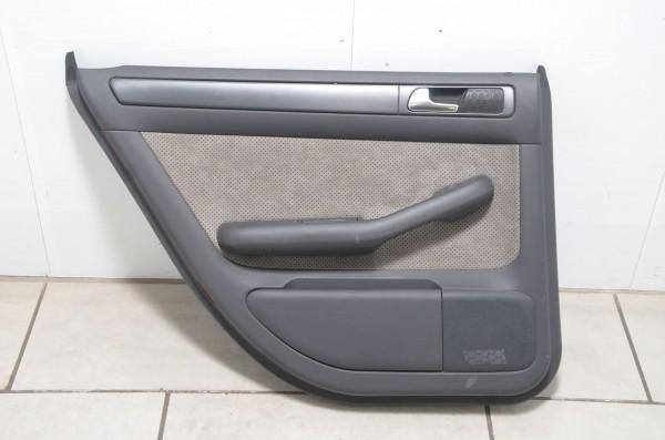 Türverkleidung hinten links Leder Alcantara Audi A6 Allroad 4B swing N7U / MZ