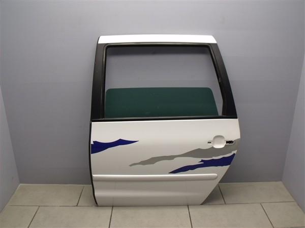 Tür Türblech Hinten Links VW Sharan 7M Seat Alhambra 7V weiß LB9A 7M0833021B