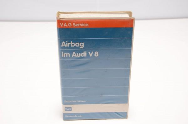 Airbag im Audi V8 Video Betriebsschulung Nr. 386 Oktober 1989