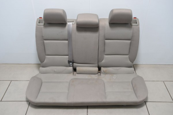 Rücksitzbank Rückbank Rücksitz Sitz Stoff Audi A3 Coupe 8P Platin-hell N7B/MD