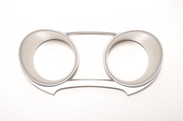 Dekorblende Dekor Tacho Kombiinstrument Seat Ibiza 6J Nanograu 6J0857059