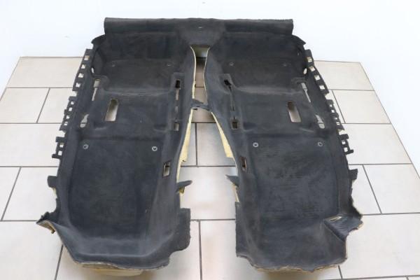 Innenraumteppich Teppich Bodenbelag Audi A4 S4 RS4 Cabrio 8H schwarz 8H1863021