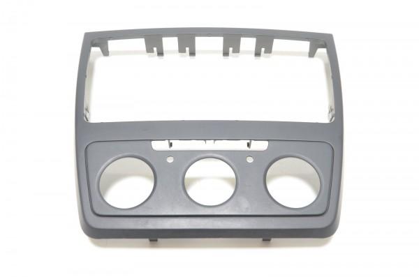 Radioblende Blende Radio manuelle Klimaanlage Skoda Yeti 5L schwarz 5L0858069G