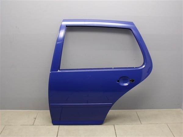 Tür Hinten Links Autotür Türblech VW Golf 4 1J Limousine blau LW5Z 1J6833055F