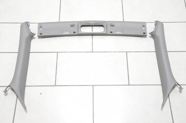 Verkleidungen Windschutzscheibenrahmen Audi A4 Cabrio 8H B6 B7 A-Säulen Platin