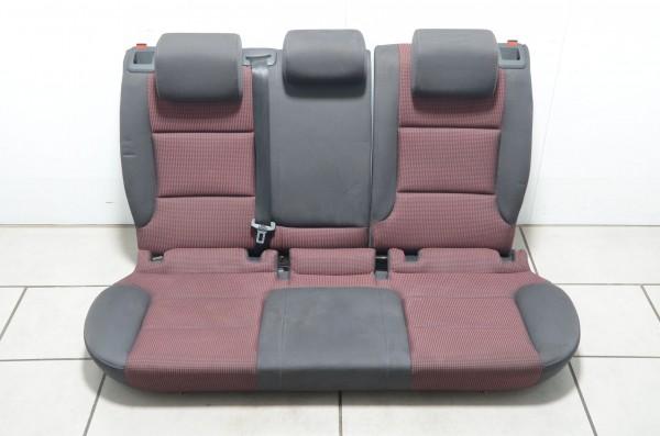 Rücksitzbank Rücksitz Rückbank Sitzbank Stoff Audi A3 Coupe 8P soul rot MR