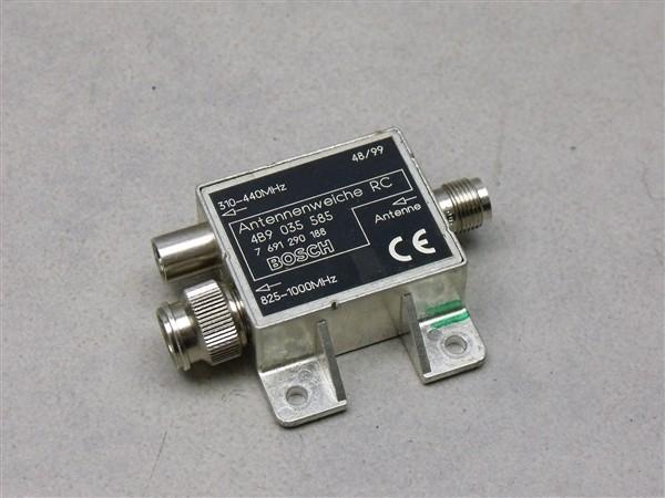 Antennenweiche Antenne Audi A6 S6 RS6 Avant 4B 4B9035585