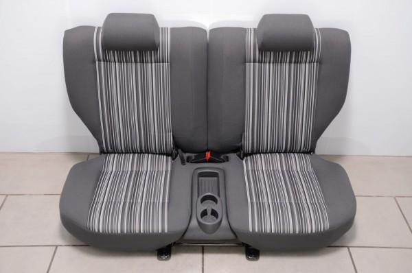 Rückbank Rücksitzbank Rücksitz Sitz verschiebbar VW Fox 5Z Anthrazit N2C/CF