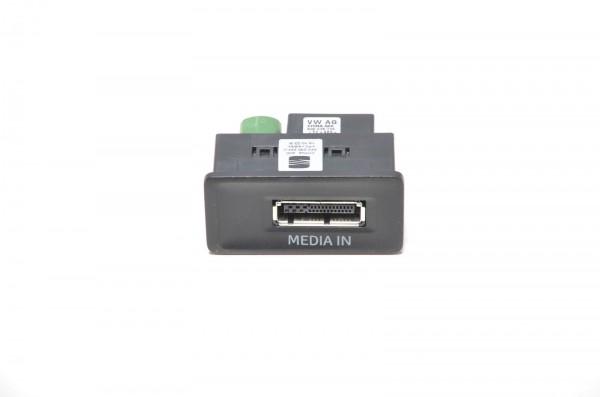 Media In iPod original Schnittstelle Interface Box Seat Leon 5F 5F0035222C
