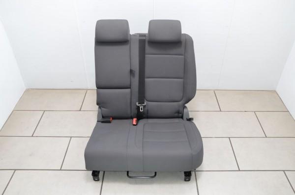 Rücksitz Rücksitzbank Rückbank hinten links Stoff VW Golf Plus 5M anthrazit KG