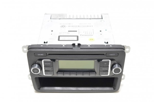 Radio CD MP3 original Autoradio RCD 210 VW Golf 6 Passat 362 365 5K0035156