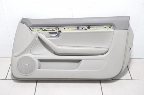 Türverkleidung Verkleidung Tür rechts Audi A4 S4 Cabrio 8H B6 Leder grau N5T/MH