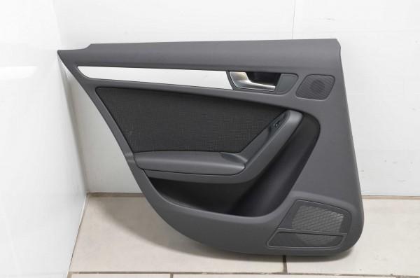 Türverkleidung Türpappe hinten links Fahrerseite Audi A4 8K Stoff schwarz N7V/QE