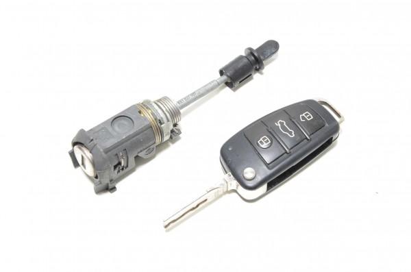 Schließzylinder Fahrertür Funkfernbedienung Schloss Audi A1 Coupe 8X 107837167BL