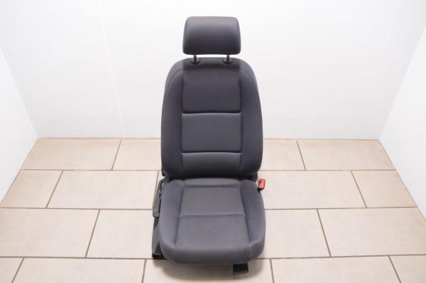 Sitz Beifahrersitz rechts Stoff Audi A4 8E B6 Maritimblau Blau N3A/LD