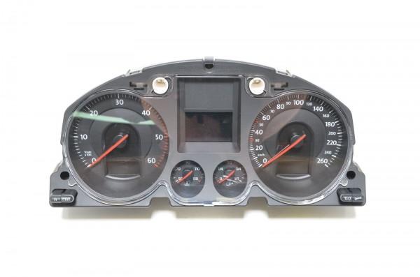 Kombiinstrument Tacho Tachometer MFA 1.9 TDI 2.0 TDI VW Passat 3C 3C0920860A