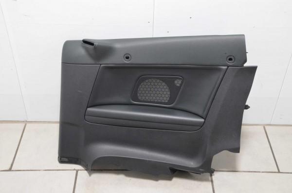 Seitenverkleidung hinten rechts Türpappe Leder Audi A3 Cabrio 8P schwarz N7V/QE
