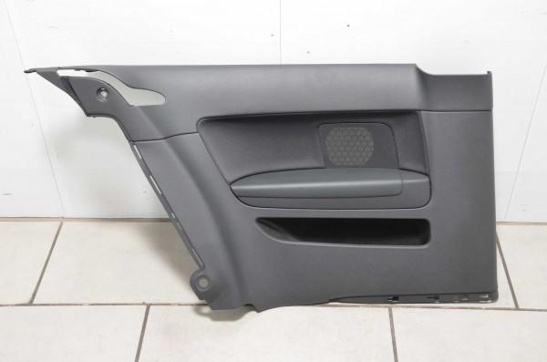 Seitenverkleidung hinten links Verkleidung Stoff Audi A3 Coupe 8P schwarz N5G/MB