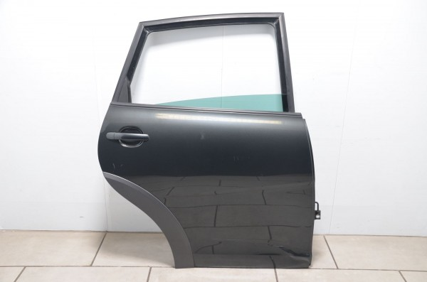 Tür Autotür Beifahrerseite hinten rechts Seat Altea XL Freetrack 5P grau LW7Z
