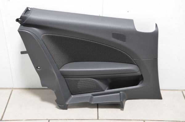 Seitenverkleidung Türpappe Seitenwand hinten links VW Scirocco 13 schwarz Stoff