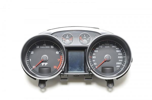 Kombiinstrument Tacho MFA Tachometer Audi TT 8J 2.0 TFSI 3.2 V6 8J0920930C