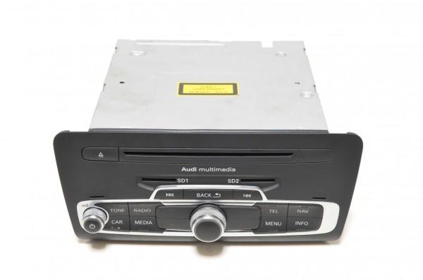 Radio Autoradio Steuergerät MMI 3G+ Bedienteil Navigation Audi A1 8X 8X0035666B