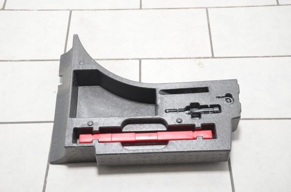 Pannenset Werkzeugkasten original Bordwerkzeug VW Polo 6R Warndreieck 6R6858857