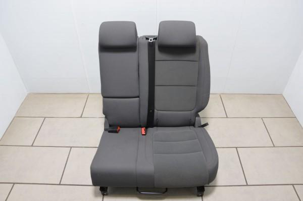Rücksitzbank Rücksitz Sitzbank links Stoff VW Golf Plus 5M anthrazit black JS