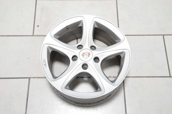 Alufelge Felge CMS 492 KBA 47372 Porsche Boxster Cayman 987 9x18 ET43 5x130