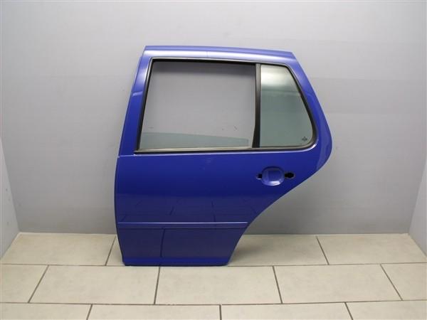 Tür Türblech Autotür Hinten Links VW Golf 4 Limousine 1J blau LW5Z 1J6833055F