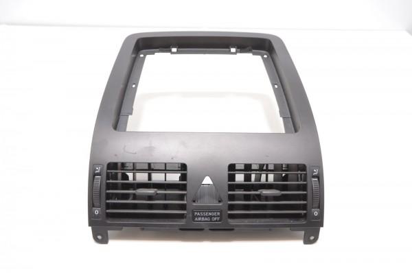 VW Touran 1T 03-10 Lüftungsdüsen Vorne Mitte incl. Blende Schwarz 1T1819728B