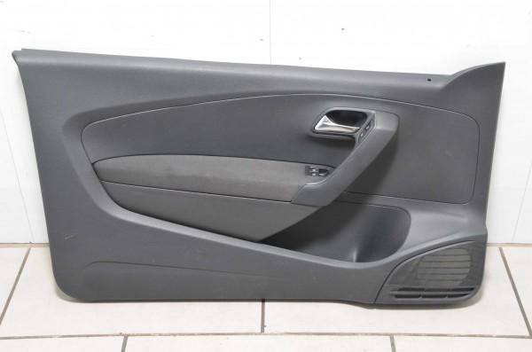 Türverkleidung Türpappe Tür links Fahrertür schwarz VW Polo Coupe 6R 6R3867011