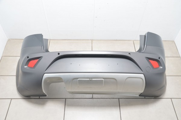 Stoßstange Stoßfänger hinten Einparkhilfe Seat Altea XL Freetrack 5P grau LW7Z