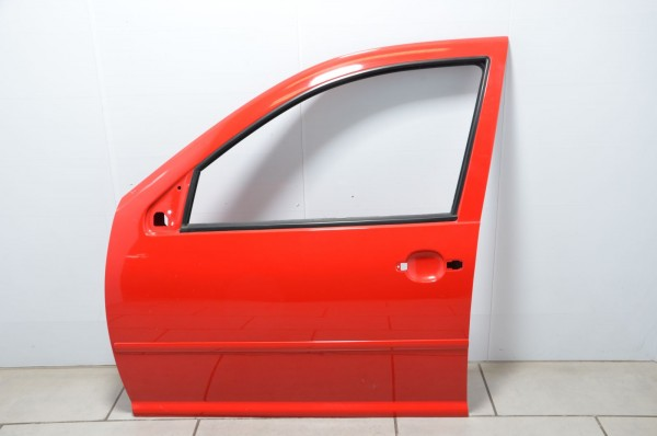 Tür vorne links Autotür Türblech VW Golf 4 Bora Limousine Variant 1J rot LP3G