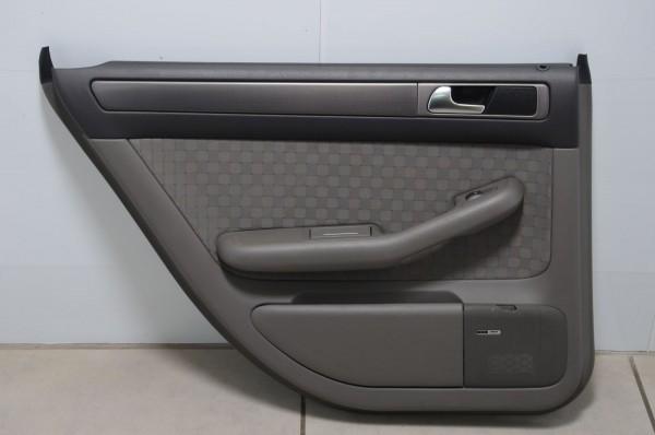 Audi A6 4B 02-05 Türverkleidung hinten links Stoff Duellstruktur Swing N4J/LB