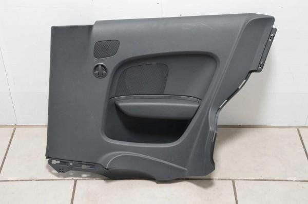 Seitenverkleidung hinten links Türpappe Audi A1 8X schwarz QZ 8X0867035
