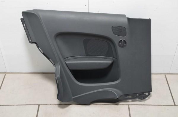 Seitenverkleidung hinten rechts Türpappe Audi A1 8X schwarz QZ 8X0867036