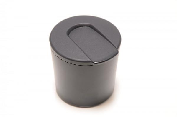 Skoda Fabia Roomster 5J Yeti Aschenbecher Mittelkonsole vorne schwarz 5J0857961