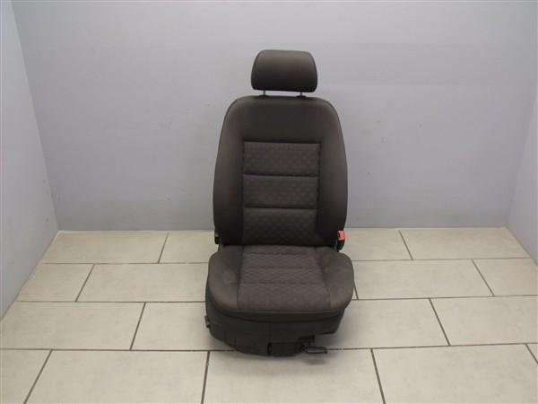 Sitz original Beifahrersitz Sitzheizung Duellstruktur Audi A6 4B Soul Schwarz