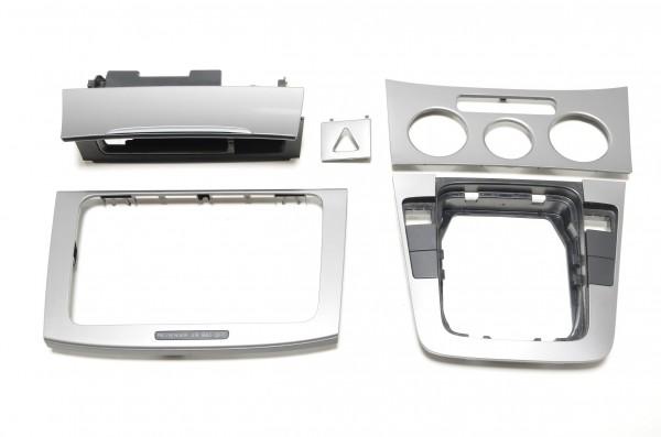 Dekorblenden Interieur Set Dekorleisten VW Passat 3C Titan Silber 3C0857961A